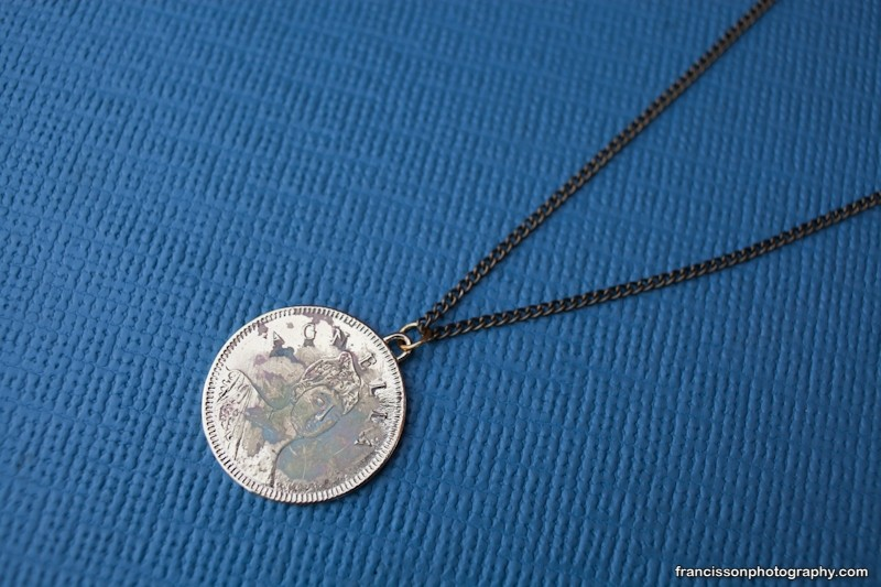 Paris Brothel Token Necklace