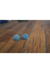 Spring Blue Cuff links