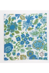 Blue/Green Floral Pocket Square